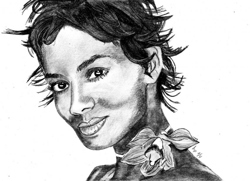 Halle Berry par patrick